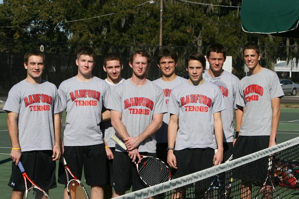 Radford University Men's Tennis