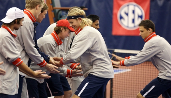 Univ. of Mississippi Men's Tennis