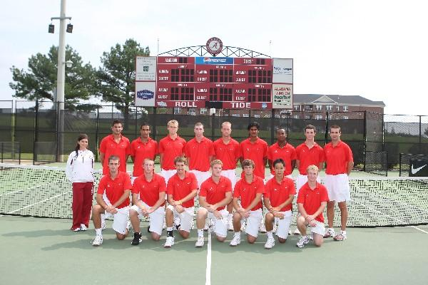 University of Alabama Men's Tennis