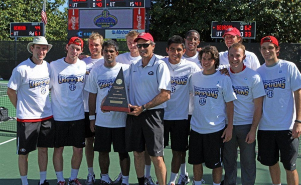 University of Georgia Men's Tennis