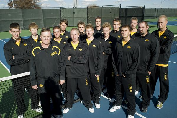 Univ. of Iowa Men's Tennis