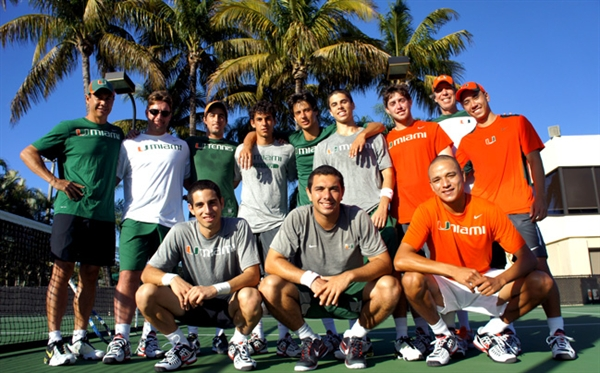 Univ. of Miami (Florida) Men's Tennis