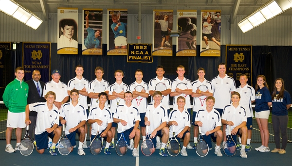 Univ. of Notre Dame Men's Tennis