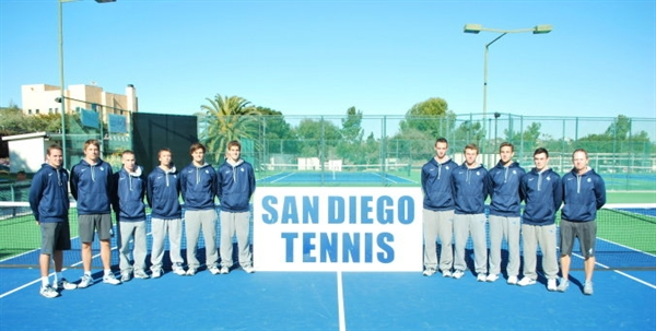 Univ. of San Diego Men's Tennis