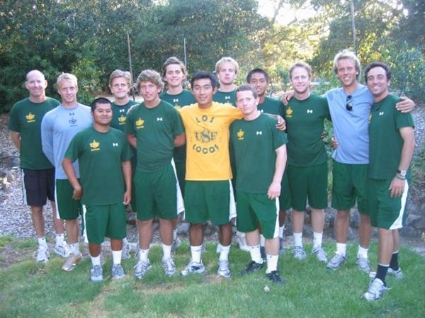 Univ. of San Francisco Men's Tennis