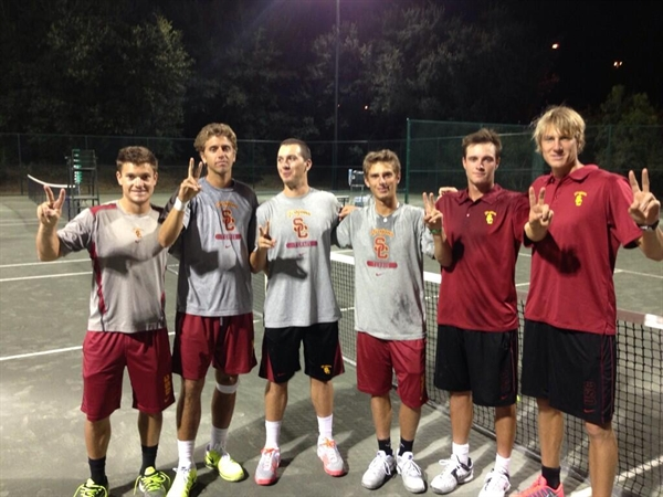 Univ. of Southern California Men's Tennis