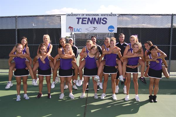 Univ. of Wisconsin, Whitewater Women's Tennis