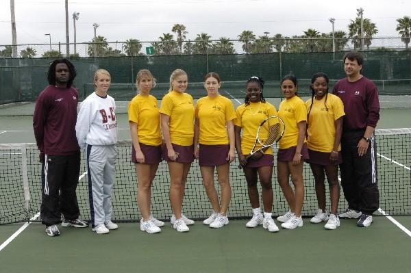 Bethune-Cookman College Women's Tennis Recognized by ITA