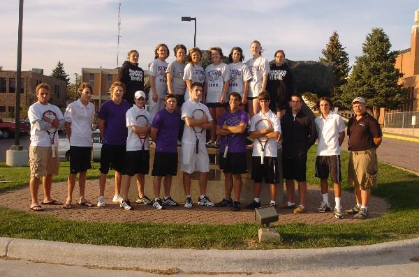 College Tennis Teams - University of Sioux Falls - Team Home