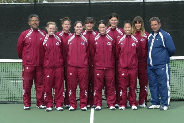 Loyola Marymount University Women's Tennis