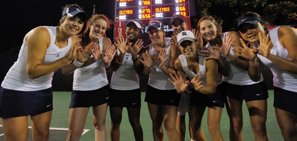 Rice University Women's Tennis