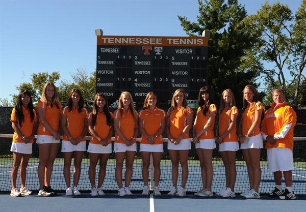 University of Tennessee Women's Tennis