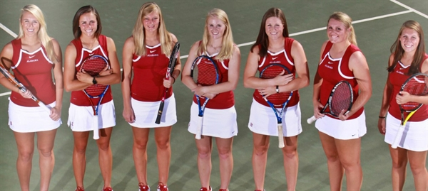 University of Alabama Women's Tennis