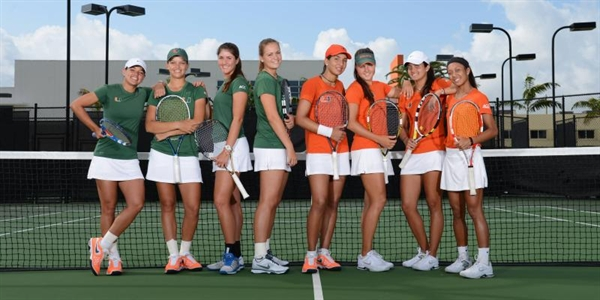 Univ. of Miami (Florida) Women's Tennis