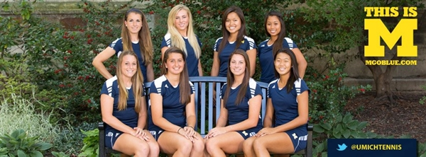 University of Michigan Women's Tennis