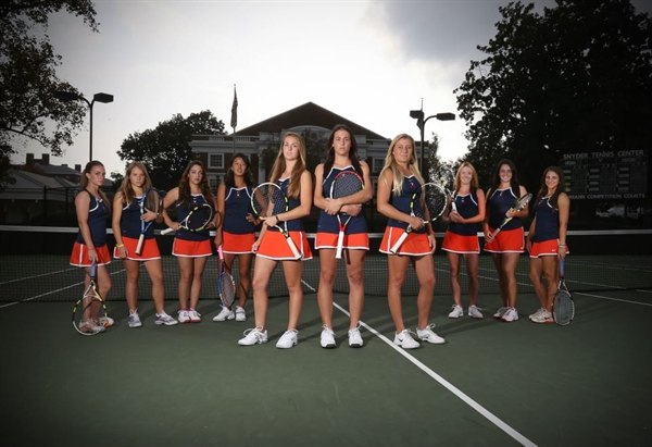 University of Virginia Women's Tennis