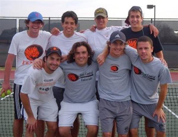 East Central University (Oklahoma) Men's Tennis